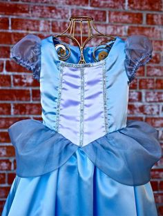Girls Prestige Cinderella Inspired Storybook Princess Dress Up