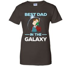 Father Day Gift Kids & Men ~ Best Dad In The Galaxy T-shirt