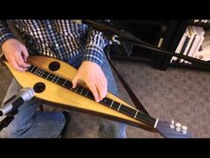 Mountain Dulcimer Lesson:  Legato Fretting Techniques