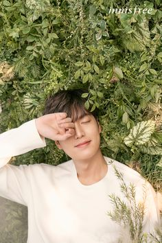 Lee Min Ho for Innisfree Spring 2017 Ad Campaign