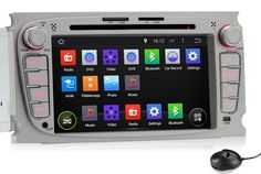 Pumpkin Plug and Play Android 4.4 kitkat Head Unit 7 Inch Silver Color For  Ford Mondeo 0da474e91288