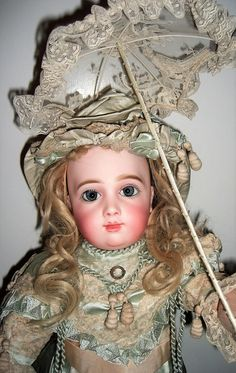"""Stunning 19"""" AT Antique Doll by Thuiller Circa 1886 - Layaway! from threesistersantiques on Ruby Lane"""