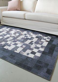 Ekologinen kierrätyspuuvillasta valmistettu matto #sisustus