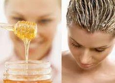 Aclarar el cabello en 7 días - 5 cucharadas grandes de miel - un chorrito de…