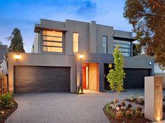 Photo of a house exterior design from a real Australian home - House Facade photo 1009764. Browse hundreds of facade designs from Australian homes on Home Ideas.