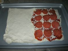 Quick and Easy Recipe:  Pepperoni Calzone