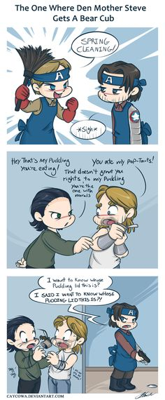 Lol! Thor and Loki!