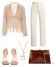 """Untitled #711"" by mchlap on Polyvore featuring Ulla Johnson, Rachel Comey, Stuart Weitzman, Gucci and Rocio"