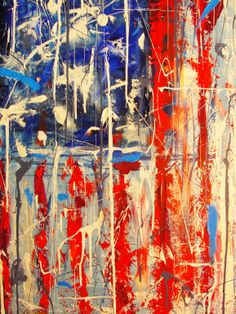 "Saatchi Online Artist: Brian Xavier; Oil 2012 Painting ""Contemporary America"""