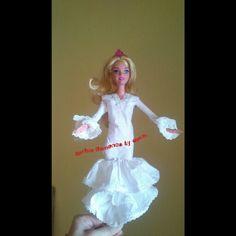 Barbie flamenca papel higiénico #toilet #papier #wedding