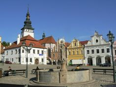 Česko, Pelhřimov - Náměstí