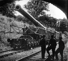 In 1943 Boche-Buster found its way back to Salisbury Plain to fire trials of a new anti-concrete shell. By the end of 1943 all the railways guns had been withdrawn from the Elham Valley and the units were disbanded. Although the anti-invasion guns were to spend long months waiting on the sidelines, if the Germans had crossed the Channel during the winter of 1940-41, their fire-power would have been a most significant factor in the battle that would have followed. Ww1 Tanks, Railway Gun, Work Train, Disused Stations, Rail Car, British Rail, Fire Powers, Big Guns, Military Equipment