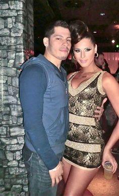 Carmen Carerra and her Husband Carmen Carrera, Hispanic Heritage, Androgyny, How To Speak Spanish, Crossdressers, Transgender, Halloween Costumes, Husband, Formal Dresses