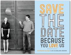 so this site is awesome. it's cheaper than doing the save the date postcards my self...