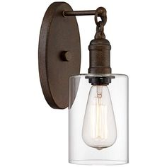 "Cloverly 11 3/4"" High Bronze LED Wall Sconce - #35E23 