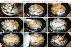 Slow Cooker Scalloped Potatoes Recipe – Slow Cooker Crock Pot Gratin Recipe