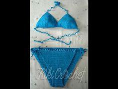Πλεκτο Μαγιω με Βελονακι (μερος 2ο)/ Crochet Bikini Bottom Tutorial - YouTube
