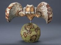 Derek Weidman.  Like the way the carving suggests the feathers