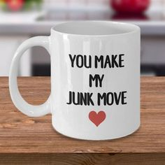 Romantic Gift Idea/Valentine's Day Mugs/Girlfriend Gift/Wife Gift/Heart Mug/Valentines Day/You Make Diy Gifts For Boyfriend, Gifts For Husband, Girlfriend Gift, Valentine Gift For Wife, Valentines Day, Romantic Gifts For Men, Just Because Gifts, Gift Quotes, Gift For Lover