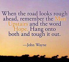 John Wayne quote tattoo??