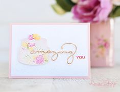Cake Soirée, Amazing You, Celebrate You thinlits Wedding Best Wishes, Best Wishes Card, Global Design, Homemade Cards, Stampin Up Cards, I Card, Cardmaking, Birthday Cards, Birthdays