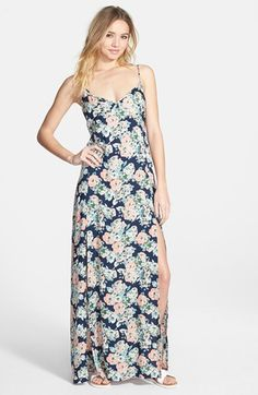 Element+'Jessamyn'+Floral+Print+Maxi+Dress+available+at+#Nordstrom