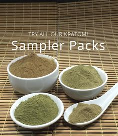 Not sure which Kratom strain is the right one for you. Try our Kratom Capsules Sampler Pack and get a 25g or 100g bag of each of our products. (Premium Bali, Maeng Da, Green Dragon, and Red Dragon)