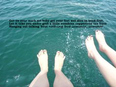 Nothing But Summer- Dallas Smith personal edit :) Country Music Lyrics, Country Songs, Dallas Smith, Tan Lines, Lyric Quotes, Hanging Out, How To Get, Let It Be, Summer
