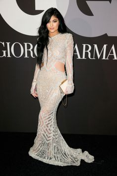 February 8, 2015 - Kylie Jenner at the GQ & Giorgio Armani Grammy Celebration Party in Hollywood.