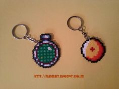 Llavero dragon ball y radar hama beads perler