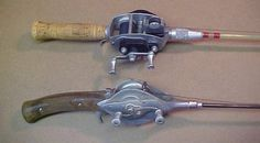Old Fishing Reels antique fishing reels and old lures - i buy old lures . Old Fishing Lures, Fishing Tackle, Fly Fishing, Fishing Poles, Vintage Fishing Reels, Oval Logo, Fishing Pictures, Rod And Reel, South Bend
