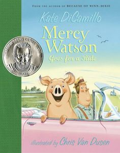 Mr. Watson's usual Saturday drive in his Cadillac with his favorite pig, Mercy, turns into an adventure when an unexpected passenger shows up in the back seat and Mercy finds herself behind the wheel.