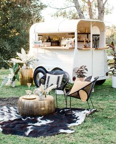 This Nomadic Bridal Inspiration Has all the Year's Top Trends — Plus 2 New Ones! - Green Wedding Shoes The Tyspy Gypsy Wandering Bar Wedding Inspiration Wedding Lounge, Garden Party Wedding, Pub Wedding, Wedding Ceremony, Bar Wedding Ideas, Rustic Wedding Bar, Bohemian Wedding Reception, Lounge Party, Bohemian Weddings