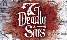 7 Deadly Sins | Ministry series identity for The Orchard Community