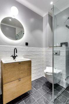 Scandinavian Bathroom Design: 15 Stunning Scandinavian Bathroom Designs You're Going To Like Modern Bathrooms Interior, Bathroom Design Luxury, Bathroom Design Small, Bathroom Designs, Kitchen Design, Baños Shabby Chic, Shabby Chic Bedrooms, Girl Bedrooms, Bathroom Trends