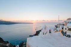 Santorini Travel Guide | Sunset Viewing Spot