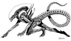 Alien - magnetic-eye.deviantart.com