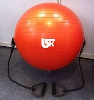 Gym ball with handle exercise ball with handle expander