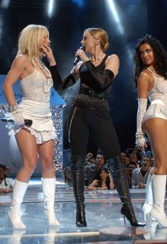 It's Been 10 Years Since Britney Spears Kissed Madonna At The VMAs