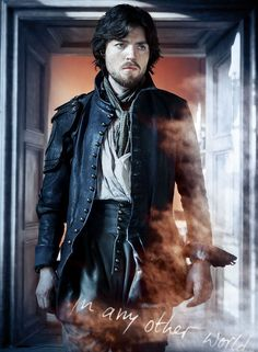 Graphic that I made of Athos from the BBC series The Musketeers (portrayed by Tom Burke)