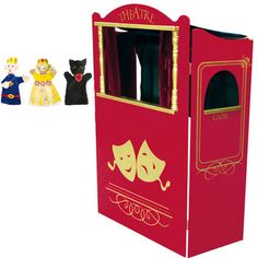 Théâtre marionnettes pliable / castelet