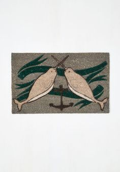 Give it Your Narwhal Doormat