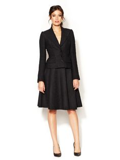 Dolce & Gabbana Classic Flared Skirt Suit | Business Chic ...