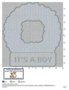 It's a boy wreath 1