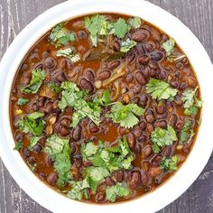 Rajma, or Punjabi-style red beans: hearty comfort food with rice or chapatis, or just by itself in a bowl.