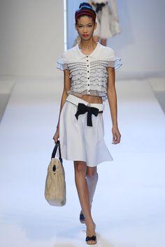 Chanel Iman @ Valentino S/S 2007, Paris | model mofos