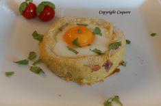 Gratinert egg på potetmosseng er en liten rett som metter. Den ser fin ut og er forholdsvis mektig. Egg på potetmosseng passer når du har lyst på noe godt. Eggs, Breakfast, Food, Morning Coffee, Essen, Egg, Meals, Yemek, Egg As Food