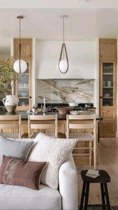 Kitchen Interior, Home Interior Design, Kitchen Decor, Kitchen Ideas, Kitchen Wood, Hm Home, Contemporary Kitchen Design, Home Decor Inspiration, Decoration