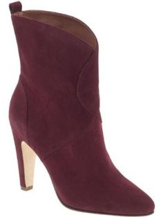 Every girl must-have..... Sigerson Morrison Vintage Low Shaft High Heel Boots