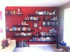 I like the Choose Your Own Adventure aspect of making/positioning my own shelves. But what if I'm wrong?